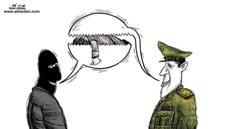 La peligrosa vida de los caricaturistas