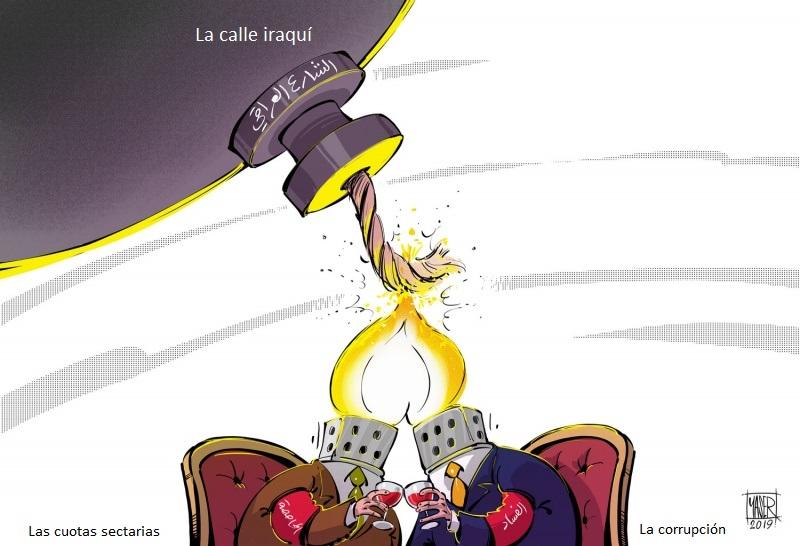 La corrupción hace prender el fuego de las protestas en Iraq, Ahmas Yaser, Al Arab, 04.10.2019