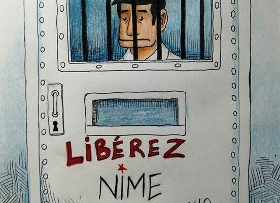 Artistas argelinos se solidarizan con Nime, el dibujante detenido