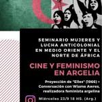 Cine y feminismo en Argelia