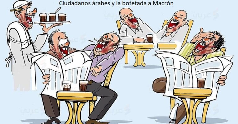 Ciudadanos árabes y la bofetada a Macrón