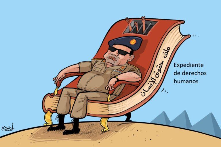Al Sisi y los derechos humanos en Egipto