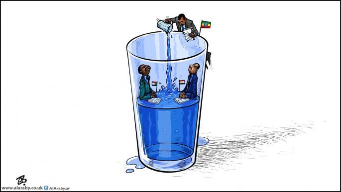 La presa del Nilo construida por Etiopía y sus consecuencias sobre Sudán y Egipto