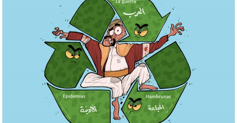 Yemen aplastado