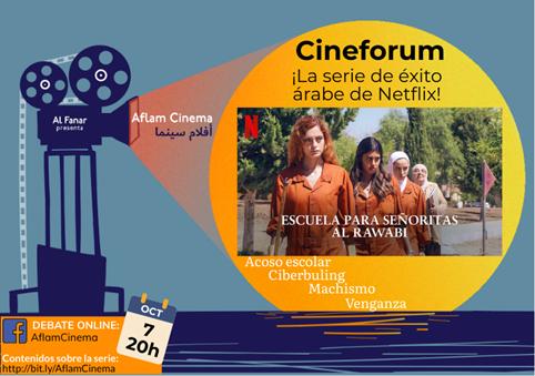 """En Aflam Cinema debatimos el último éxito árabe de Netflix: """"Escuela para señoritas Al Rawabi"""""""