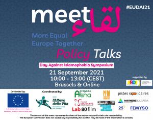Fundación Al Fanar participa en el EU Policy Talks 2021 con motivo del Día Europeo contra la Islamofobia
