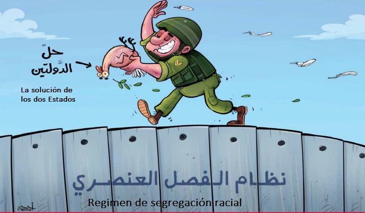 El Apartheid israelí y la solución de los dos Estados
